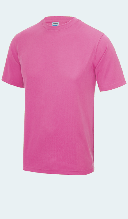 Neon T-Shirt in Electric Pink