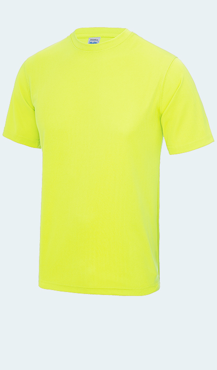 Neon T-Shirt in Electric Yellow